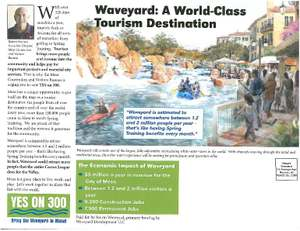Vote YES on Proposition 300 and bring the Waveyard to Mesa!!