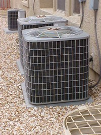Carrier air conditioning unit that just had the compressor replaced.